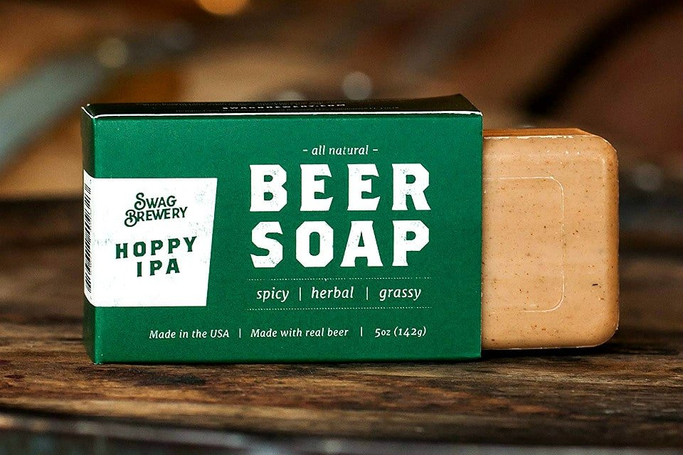 beer products beer soap