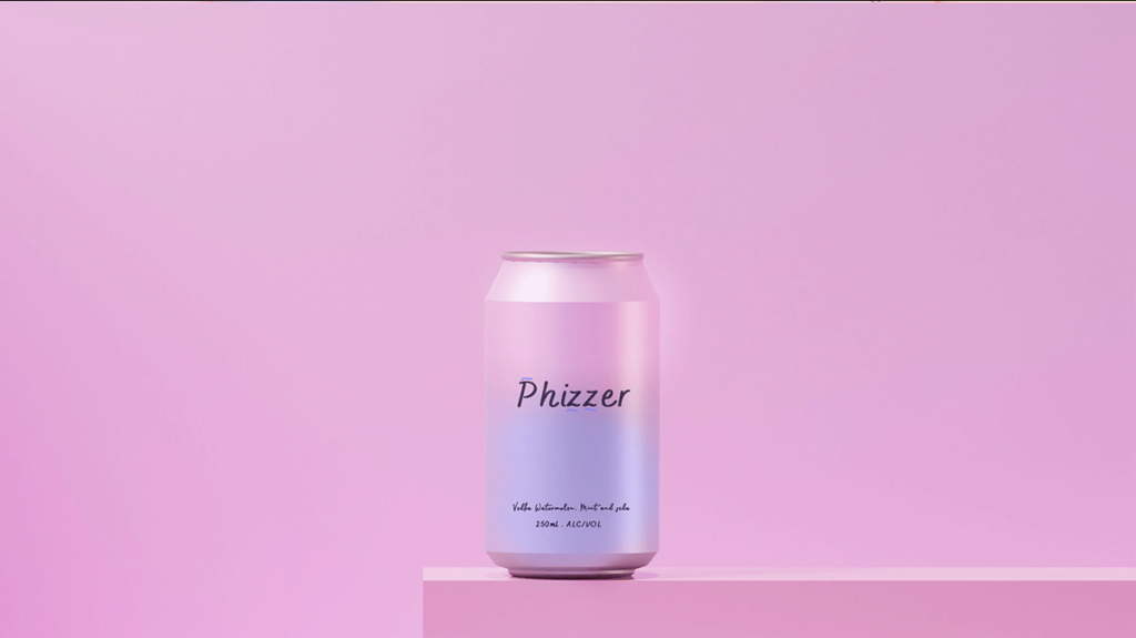 phizzer beer package design