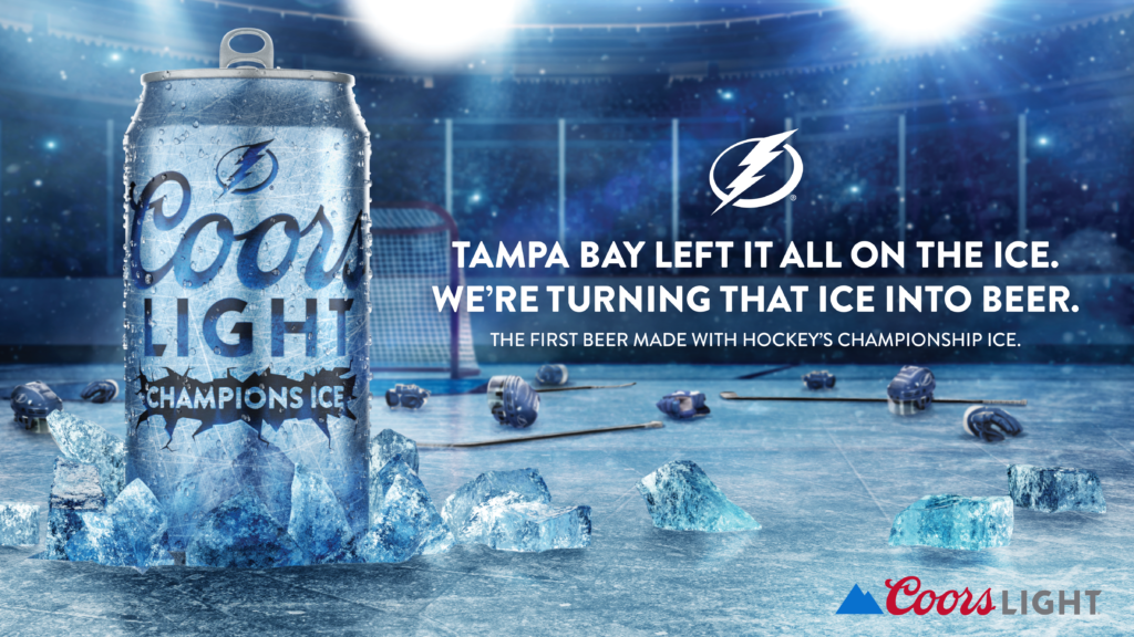 Coors Light Is Making Beer Out Of The Ice The Stanley Cup Final Was Played On
