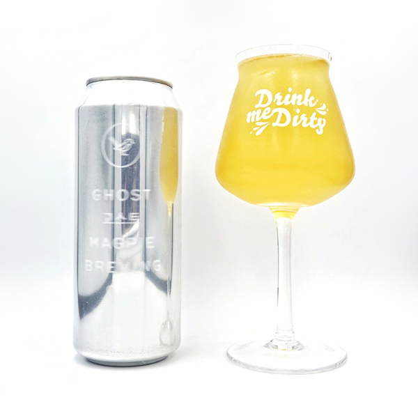 The Ghost / 고스트 - Magpie Brewing Co. beer can design